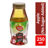 F&N Fruit Tree Fresh Bottle Juice - Apple (No Sugar Added)
