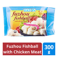 Haton Frozen Fuzhou Fishball with Chicken Meat