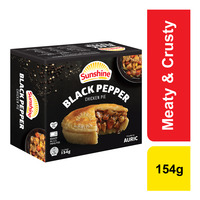 Sunshine Frozen Chicken Pie - Black Pepper