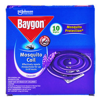 Baygon Mosquito Coil - Lavender