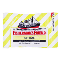 Fisherman's Friend Sugar Free Lozenges - Citrus