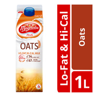 F&N Magnolia Plus Milk - Oats (Lo-Fat & Hi-Cal)