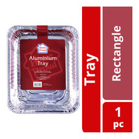 HomeProud Aluminium Tray - Rectangle
