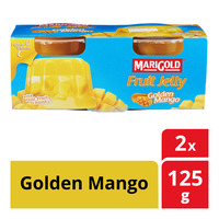 Marigold Fruit Cup Jelly - Golden Mango 2 x 125G