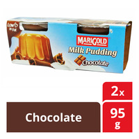 Marigold Milk Pudding - Chocolate  2 x 95G