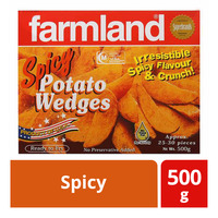 Farmland Frozen Potato Wedges - Spicy