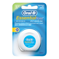 Oral-B Waxed Dental Floss - Essential (Mint)