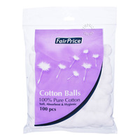 FairPrice 100% Pure Cotton Balls