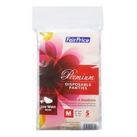 FairPrice Premium Disposable Panties - Low Waist Mini (M)