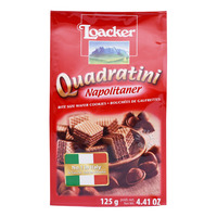 Loacker Quadratini Bite Size Wafer Cookies - Napolitaner
