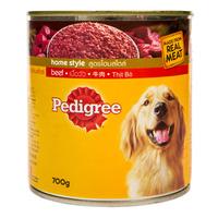 Pedigree Home Style Dog Wet Food - Beef