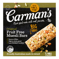 Carman's Muesli Bars - Original (Fruit Free)