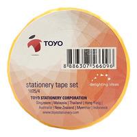 Toyo Stationary Tape Set (1825/4)