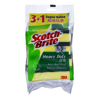 3M Scotch-Brite Scrub Sponges - Heavy Duty