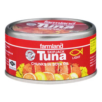 Farmland Skipjack Tuna - Chunks in Soya Oil