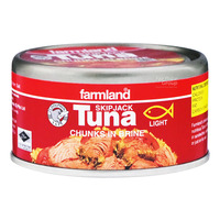 Farmland Skipjack Tuna - Chunks in Brine