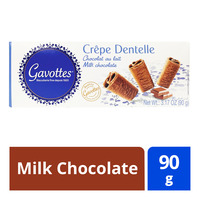 Gavottes Crepes Dentelle Cookies - Milk Chocolate