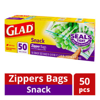 Glad Zippers Bags (Snack)