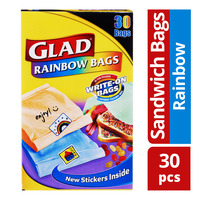 Glad Sandwich Bags - Rainbow