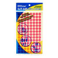 D-Best Self-Adhesive Labels - Circle