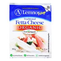 Lemnos Organic Fetta Cheese - Traditional