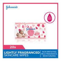Johnson's Baby Wipes - Lightly Fragranced