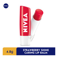 Nivea Caring Lip Balm - Strawberry Shine