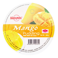 Naspac Pudding with Nata De Coco - Mango