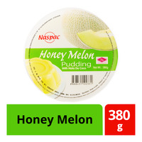 Naspac Pudding with Nata De Coco - Honey Melon