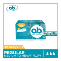 O.B ProComfort Tampons - Regular