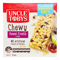 Uncle Tobys Wholegrain Muesli Bars - Forest Fruits