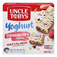 Uncle Tobys Wholegrain Yoghurt Muesli Bars - Strawberry