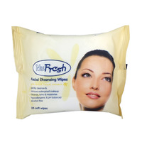 NuFresh Facial Cleansing Wipes - Witch Hazel Extract