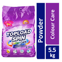 Topload Spin Detergent Powder - Colour Care