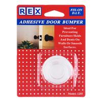 Rex Adhesive Door Bumper - Clear