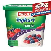 Marigold Non Fat Yoghurt - Mixed Berries