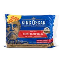 King Oscar Brisling Sardines in Tomato Sauce