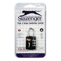 Slazenger TSA 3 Dial Digital Lock