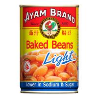 Ayam Brand Baked Beans - Light 425G