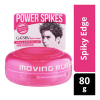 Gatsby Moving Rubber Styling Wax - Spiky Edge