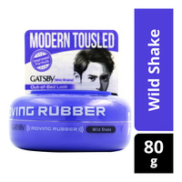 Gatsby Moving Rubber Styling Wax - Wild Shake