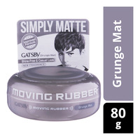 Gatsby Moving Rubber Styling Wax - Grunge Mat