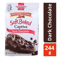 Pepperidge Farm Soft Baked Captiva Cookies - Dark Chocolate
