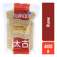 Taikoo Unrefined Cane Sugar - Raw