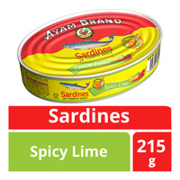 Ayam Brand Sardines in Tomato Sauce - Spicy Lime