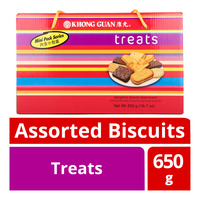 Khong Guan Assortment Biscuits - Treats
