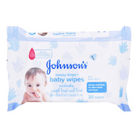 Johnson's Baby Wipes - Messy Times 20S