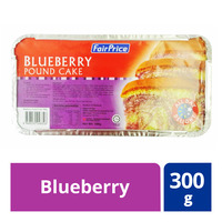 FairPrice Frozen Pound Cake - Blueberry