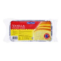 FairPrice Frozen Pound Cake - Vanilla