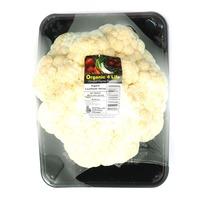 Organic Australia Cauliflower - Halved